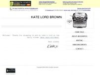 Kate Lord Brown